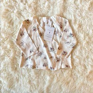 Jamie Kay 6-12 forever floral wrap top